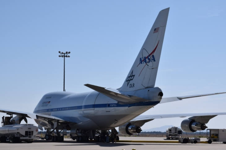 SOFIA Aircraft: Stratospheric Observatory for Infrared Astronomy