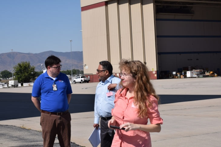 CaSGC Community College Faculty Tour of NASA Armstrong Flight Research Center