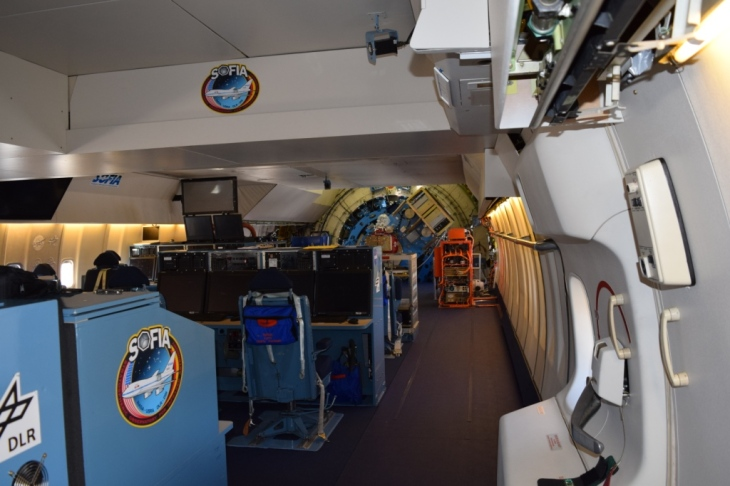 Inside the SOFIA Aircraft