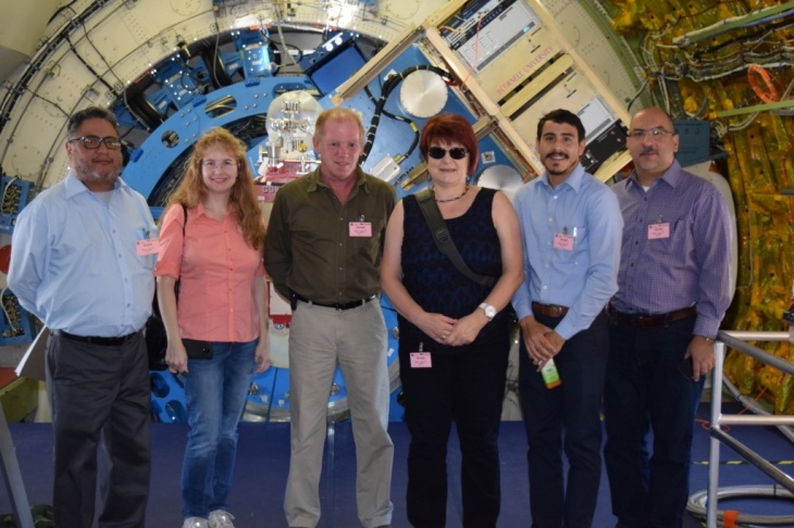 CaSGC Community College Faculty Tour of NASA Armstrong Flight Research Center: Inside the SOFIA Aircraft